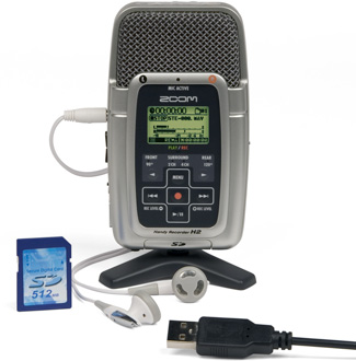 H2 Zoom Handy audio recorder