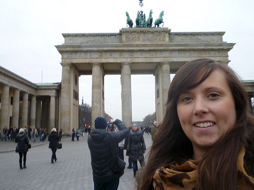 Cailin Cailin O'Neil from Travel Yourself in Berlin Photo: Cailin O'Neil in Berlin Photo: MyBloggingJourney.com