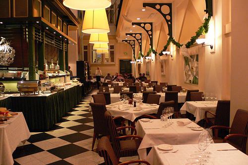 Restaurant at Elite Plaza Hotel, Gothenburg, Sweden Photo: Mybloggingjourney.com