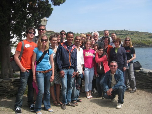 Bloggers from the #inCostaBrava trip Photo: Velvetescape.com