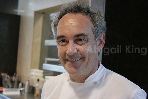 Ferran Adria, Bloggers are changing Gastronomy Phot: InsidetheTravelLab.com