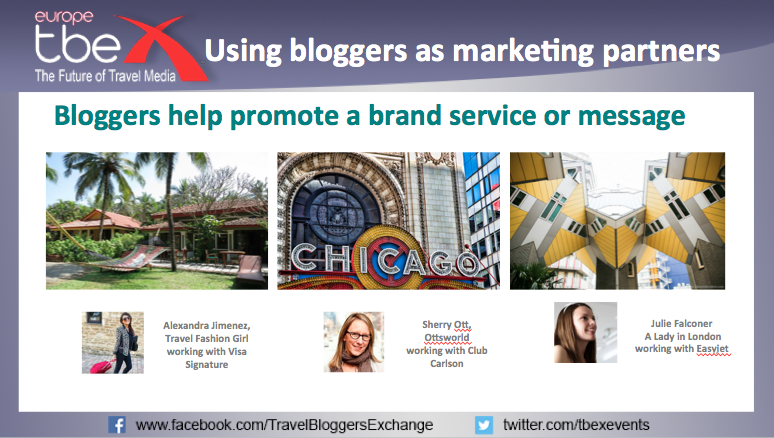 Using bloggers as marketing partners