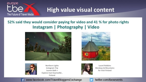 High value visual content