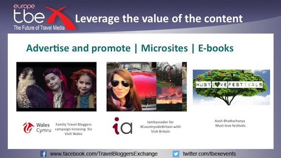 Leverage the value of the content