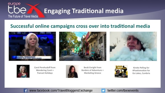 Engaging Traditional media